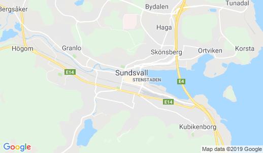 Karta Sundsvall Centralstation.A Hotel Com Sundsvall Boende Med Wi Fi Anslutning Till Internet Wlan