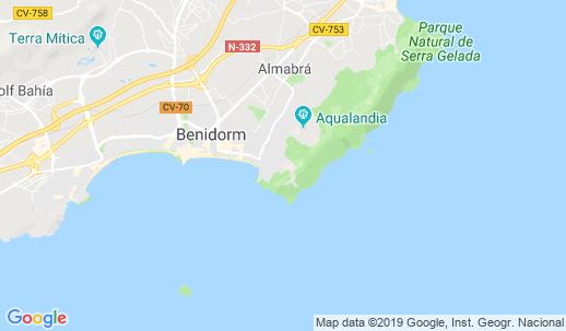 Rincon De Loix Mapa.A Hotel Com Raco De L Oix Rincon De Loix Aire Acondicionado